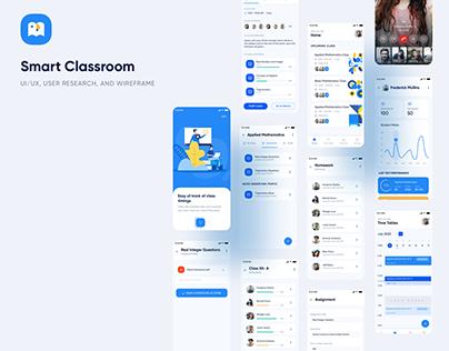 Online Classroom UI/UX Case Study