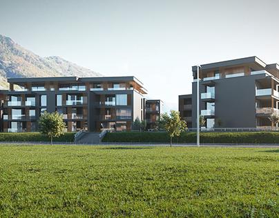 Residential complex in Switzerland