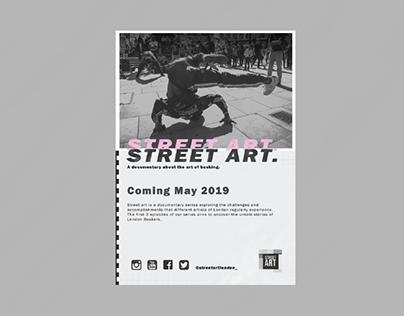 STREET ART POSTERS