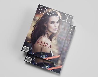 Enface magazine — Art direction & layout project