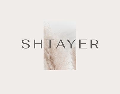 SHTAYER Brand Identity