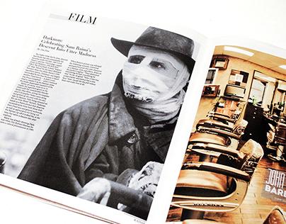 Local Culture Newspaper Print Layout + Design | RADAR