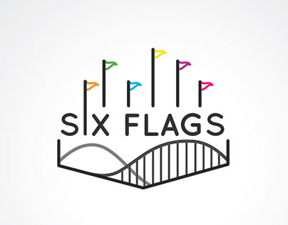 Six Flags Rebrand Style Guide