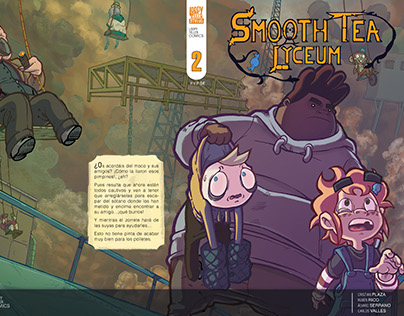 Smooth Tea Lyceum #2 - Cómic