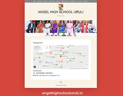 WordPress Website for Angel Highschool
