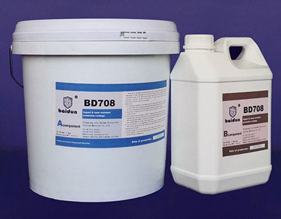 BD708 impact resistant wear resistant coating