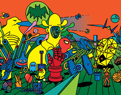 Geek-Art Book Cover