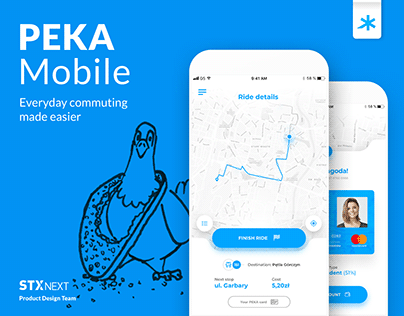 PEKA Mobile - Everyday commuting made easier