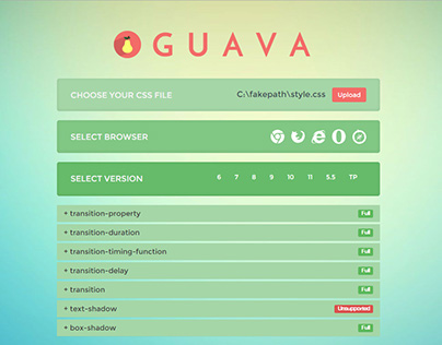 Guava - CSS compatibility test