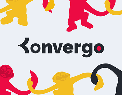 Konvergo - Brand identity & web design
