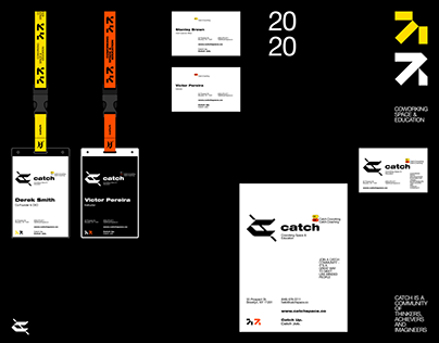 Catch — Visual Identity Concept