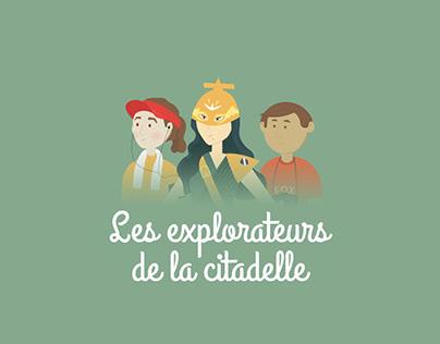 Les explorateurs de la citadelle