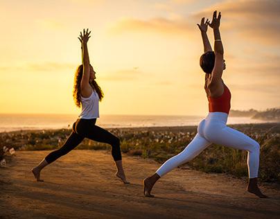 Omm Yoga Club, Content Shoot, Cardiff