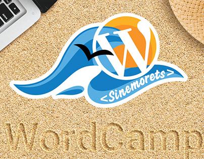 WordCamp Retreat SInemorets 2019 logo identity and swag