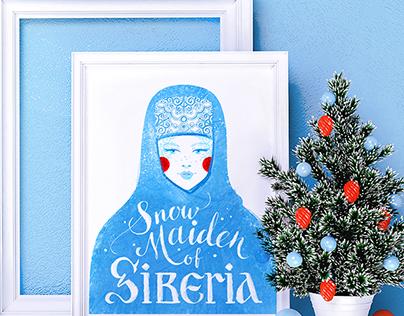 Snow Maiden of Siberia