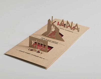 3D wedding invitation card