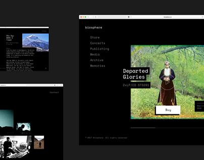 Biosphere — Website Redesign