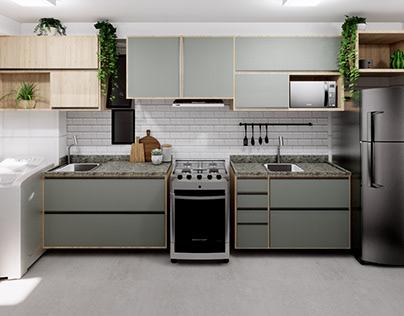 Cozinha - Projeto FL