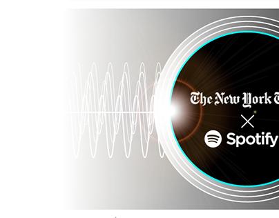 NY Times + Spotify Collaboration