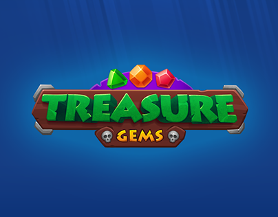 Treasure Gems match 3 UI