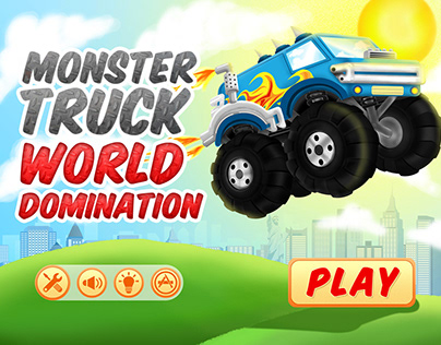 Monster Truck Game App