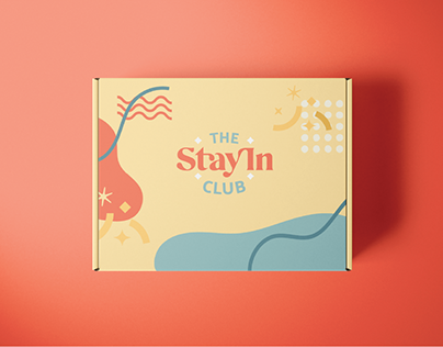 Girl Subscription Box Brand Identity for Weekend