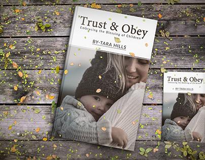 TRUST & OBEY BOOK COVER DESIGN