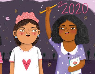 PLAN INTERNACIONAL / Calendario 2020