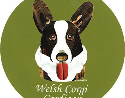 013 | Welsh Corgi Cardigan