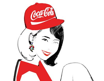 Coca-cola is Fashion