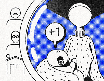 Todos Pelo Censo • Illustrations