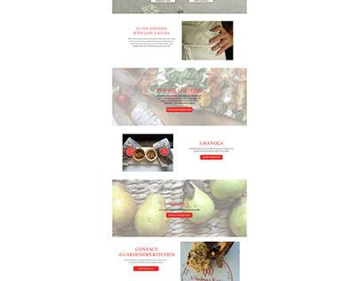 A Gardner's Kitchen Web Site