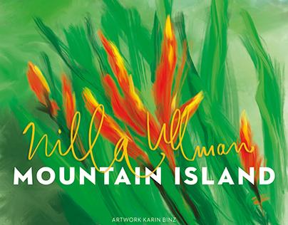 Coverdesign for Nilla Ullman's Mountain Island