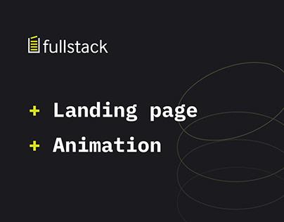 Fullstack Hackathon Landing page
