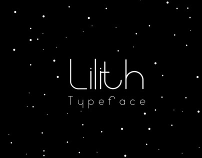 Lilith typeface