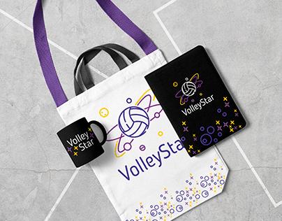 VolleyStar, logo and identity
