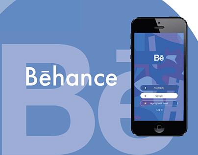 UI/UX Behance App Redesign