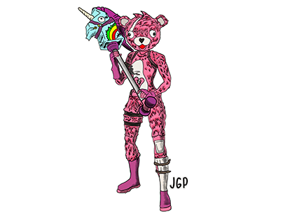 Pink Bear Pintas