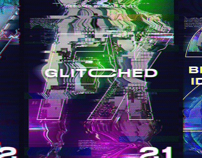 How to Create Futuristic Glitched 3D Posters C4D & PS