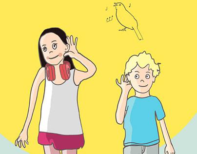 Illustrationen für einen Wettbewerb