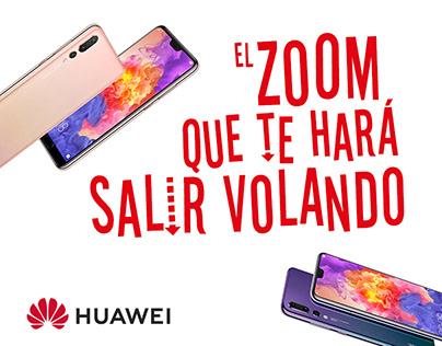 Propuesta Campaña Promocional Huawei 2018
