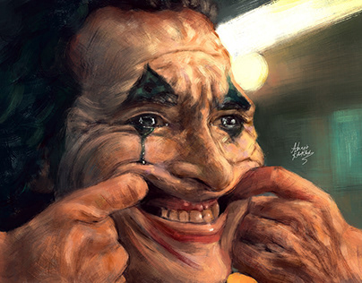 Joker paintings collection