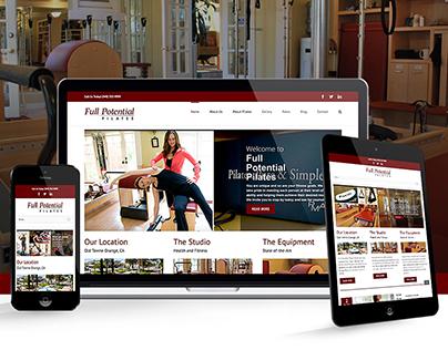 Full Potential Pilates | Website Design