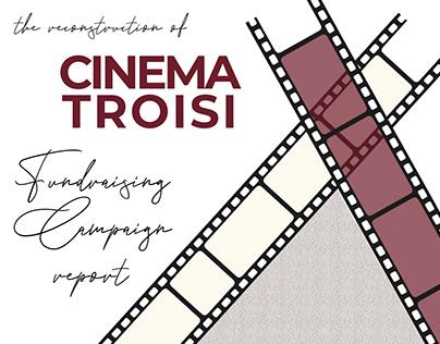 The reconstruction of Cinema Troisi