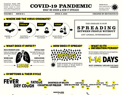 Covid 19 Health Infographic