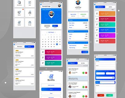 Admin Dashboard Mobile App