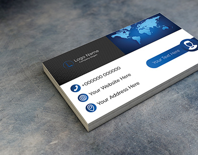 Professional Business Card Model 6