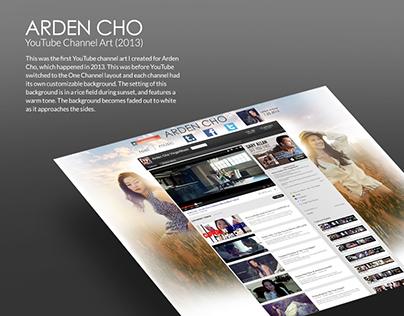 Arden Cho Youtube Channel Art (2013)