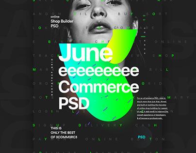 June - eCommerce Product- Web / UI PSD