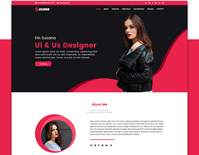 Web Design- Personal Portfolio